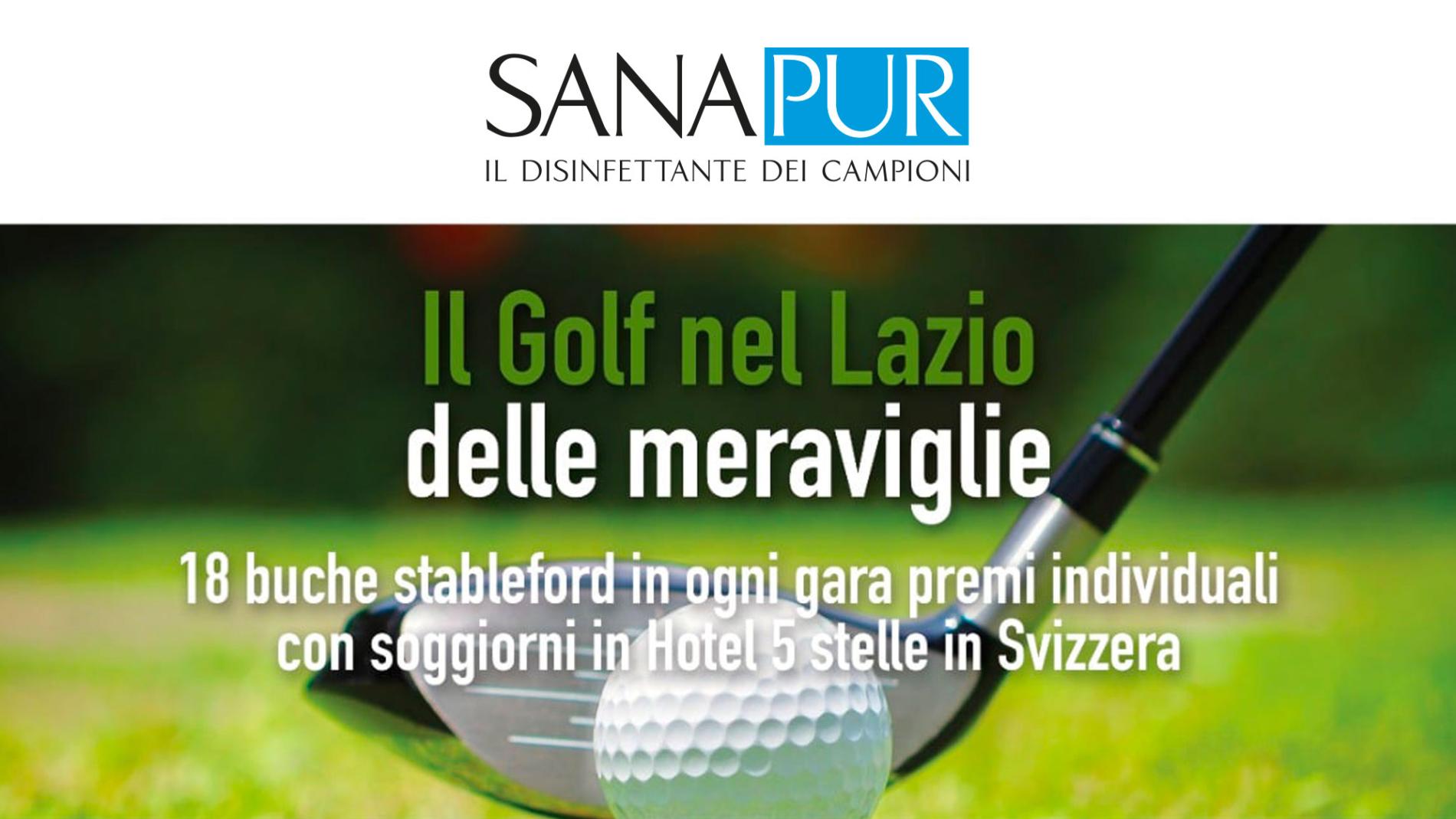 sanapur-sponsor-lazio-meraviglie-golf-copertina-s2life